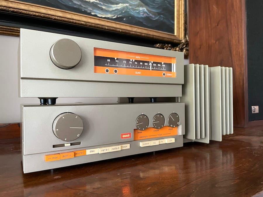 Quad 33 Pre-Amplifier, FM-3 Tuner and 303 Amplifier