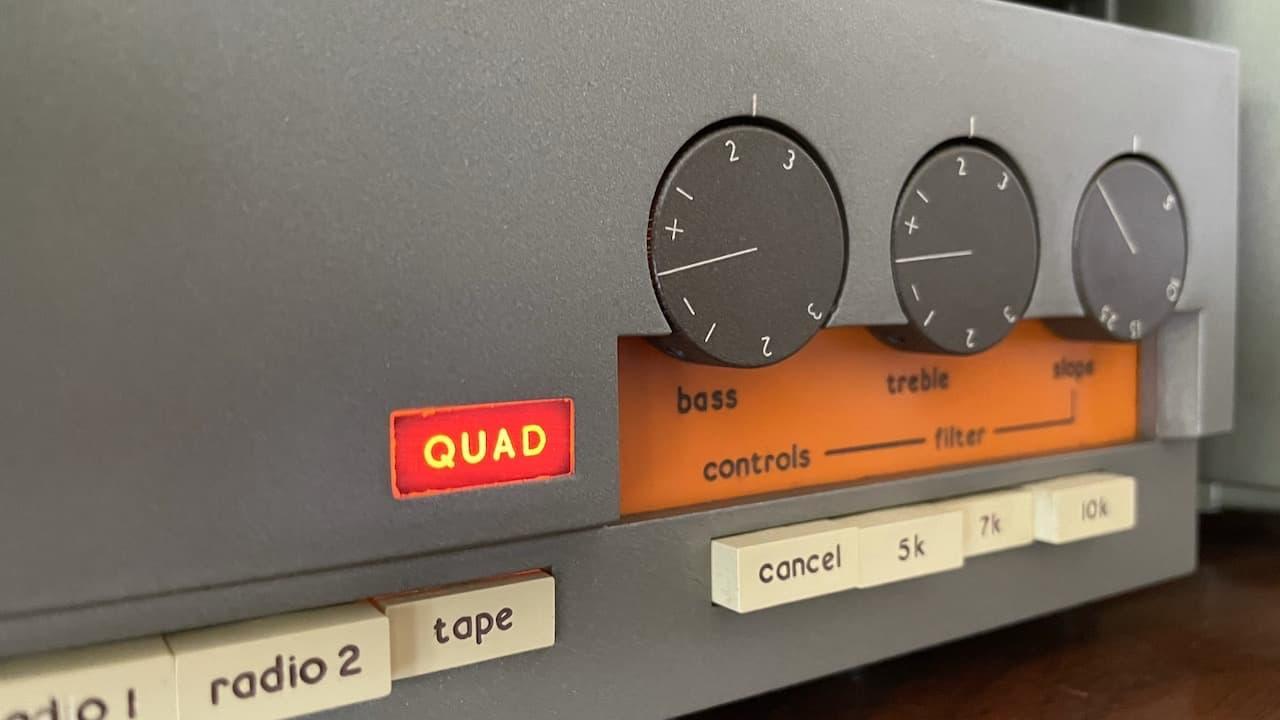 Vintage Audio: Quad 33 Pre-Amplifier Closeup