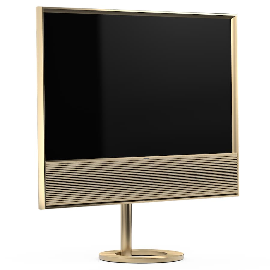 Bang & Olufsen Contour OLED TV Gold with Floor stand
