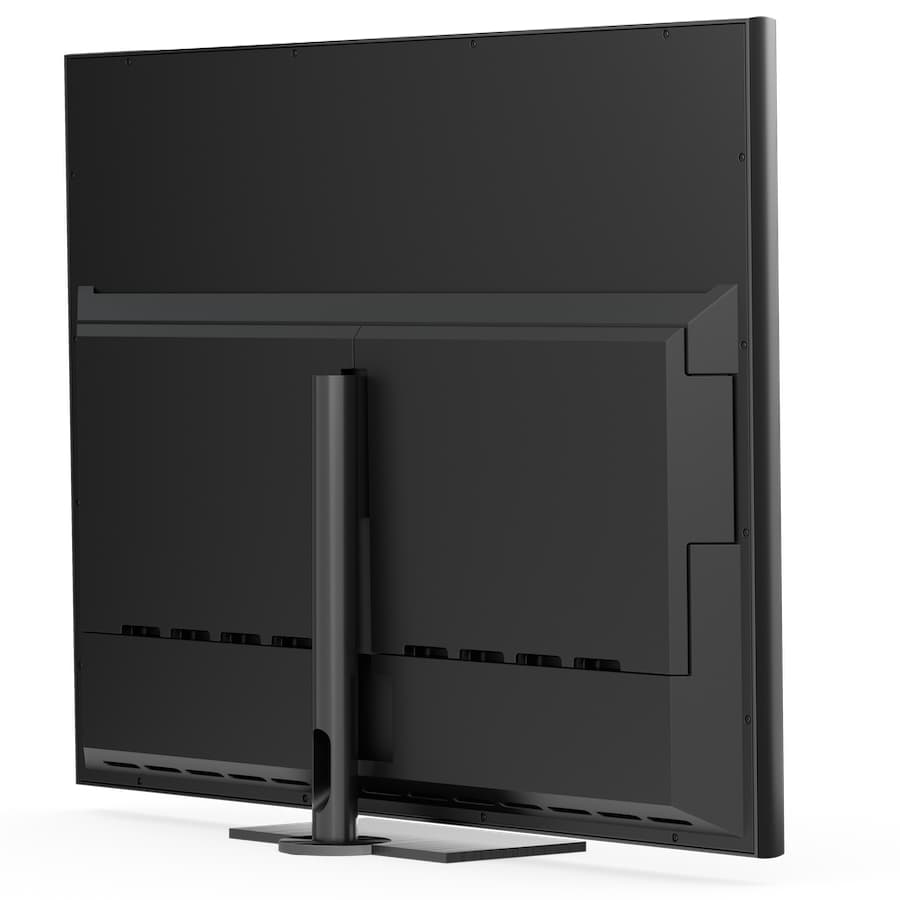 Bang & Olufsen Contour OLED TV Rear on Table-top Stand