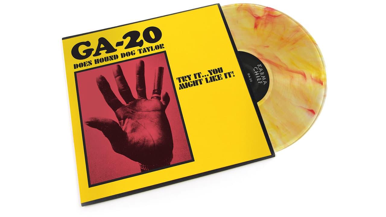GA-20 Does Hound Dog Taylor Album
