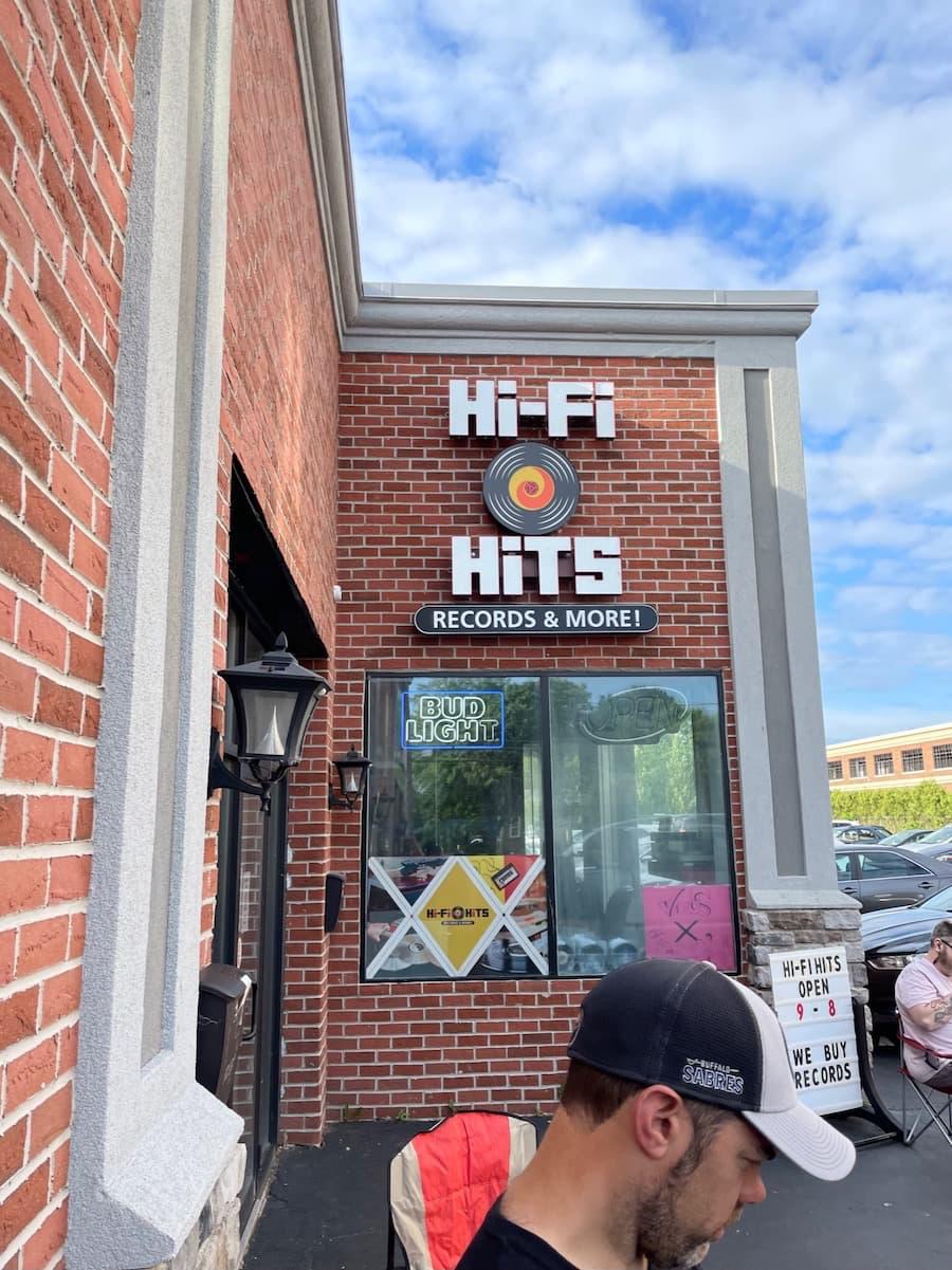 RSD 2021-06-12 Hi-Fi Hits Record Store