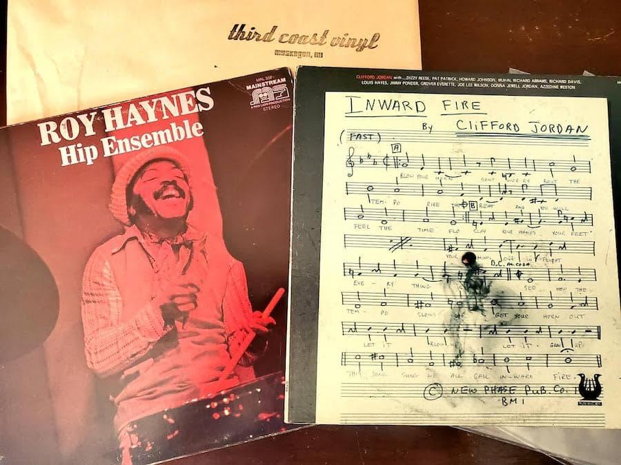 Records Purchased at Third Coast Vinyl, Muskegon, Michigan