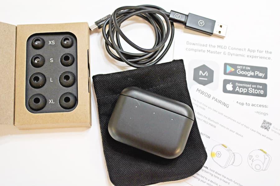 Master & Dynamic MW08 Wireless ANC Earphone Accessories