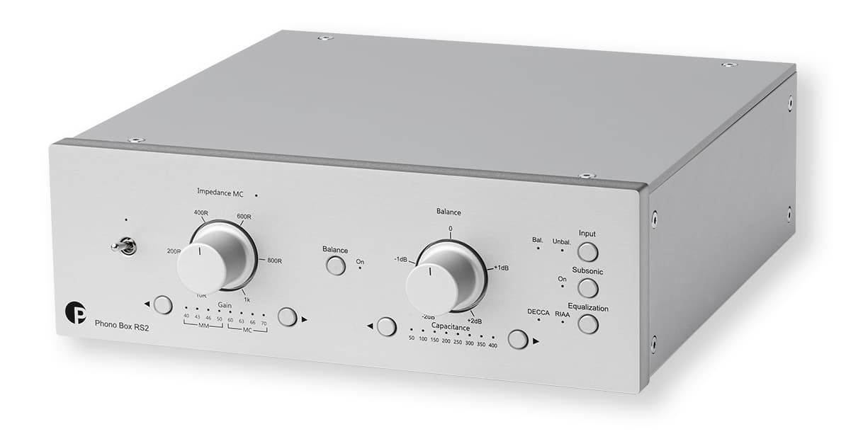 Pro-Ject Phono Box RS2 in Silver