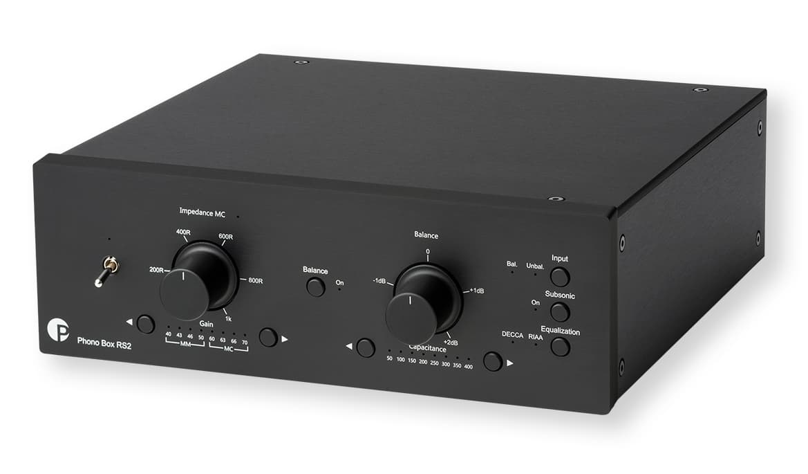 Pro-Ject Phono Box RS2 in Black