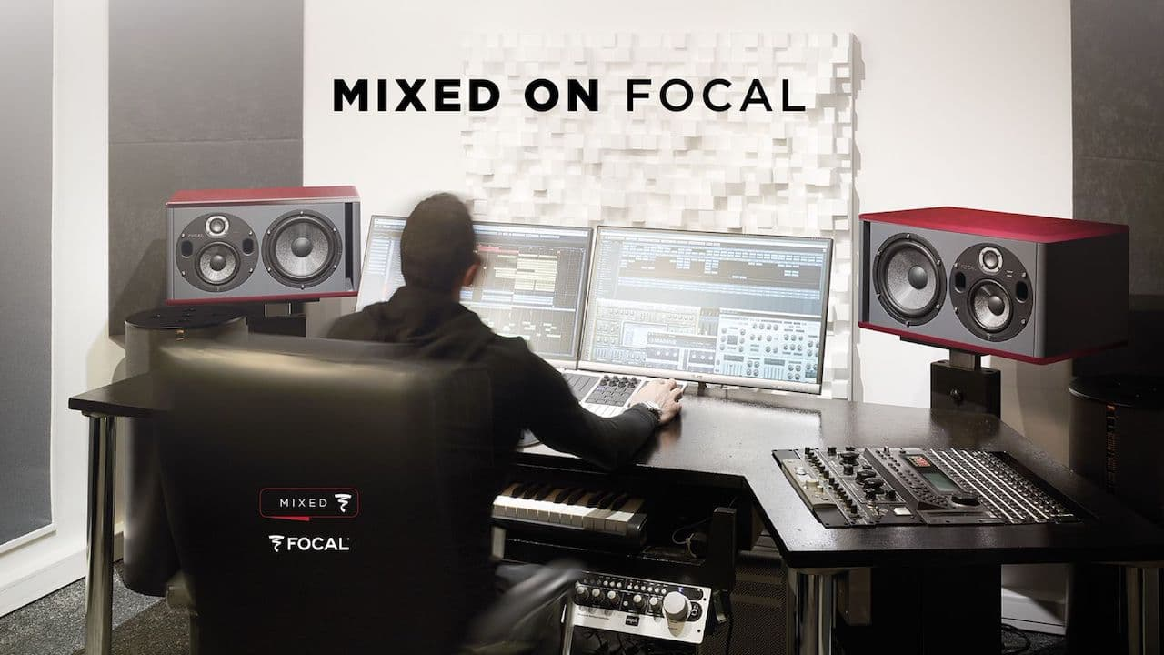 Mixed on Focal - audio mastering with Focal studio monitors