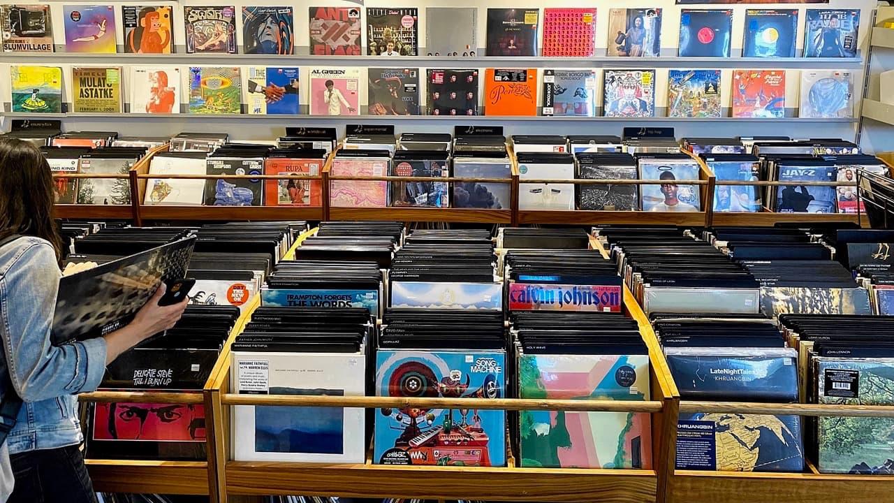 Record Store Day 2021-06-12 at Blackbyrd Myoozik in Calgary
