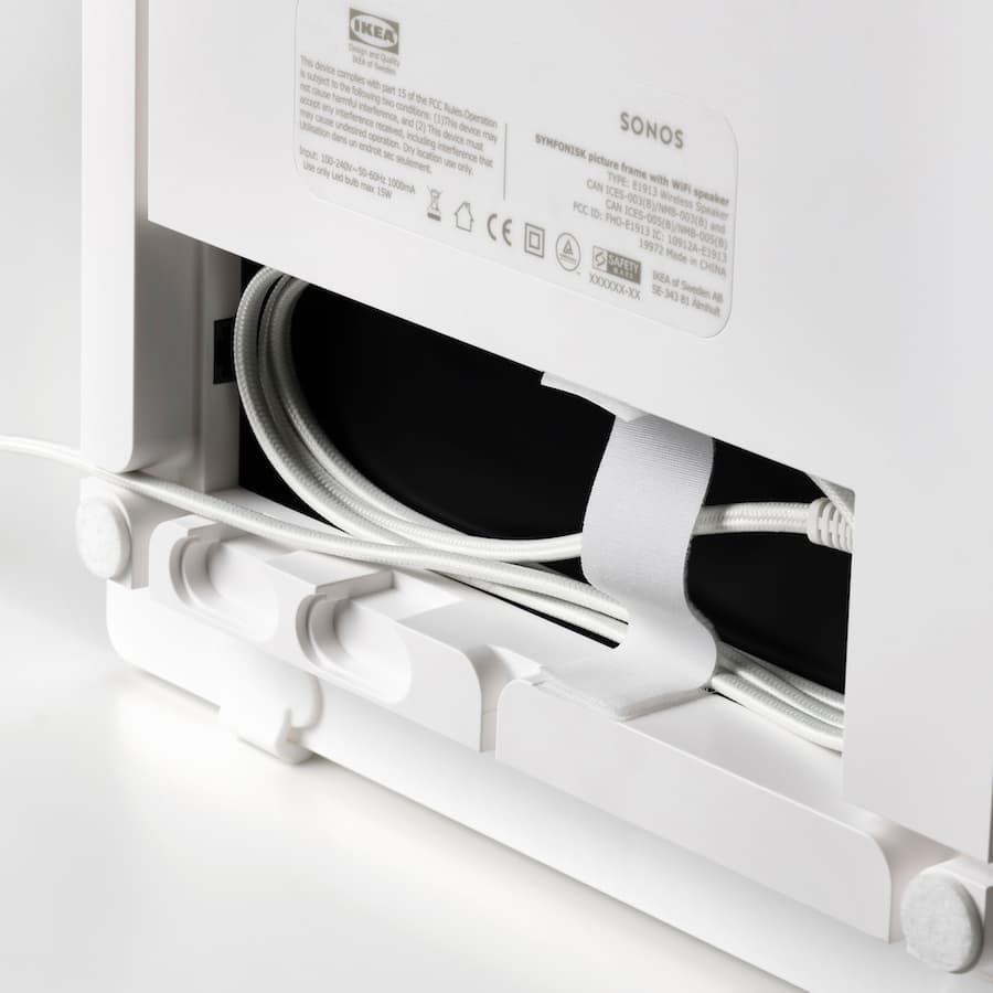 Symfonisk Picture Frame WiFi Sonos Wireless Speaker rear