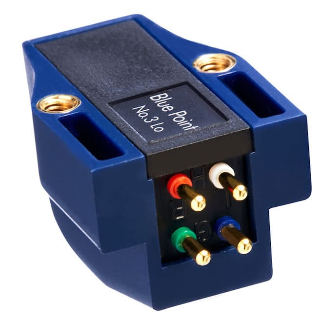 Sumiko Blue Point No. 3 Low MC Phono Cartridge Rear