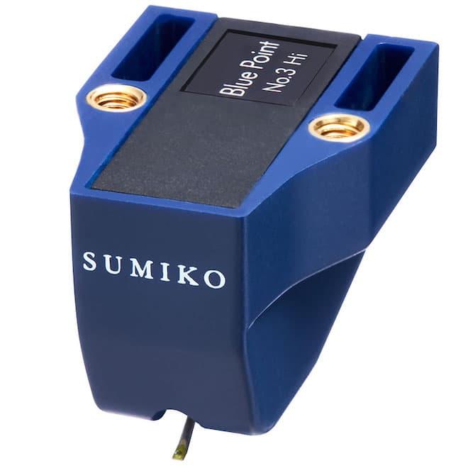 Sumiko Blue Point No. 3 High Output MC Phono Cartridge Front