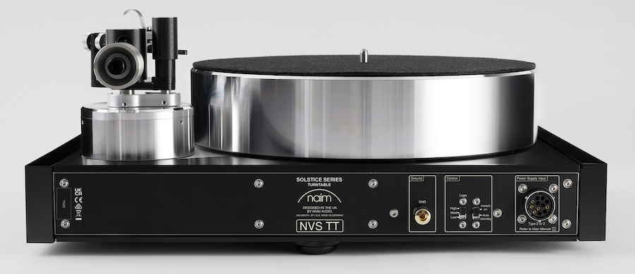 Naim Audio Solstice NVS TT Turntable Special Edition Rear