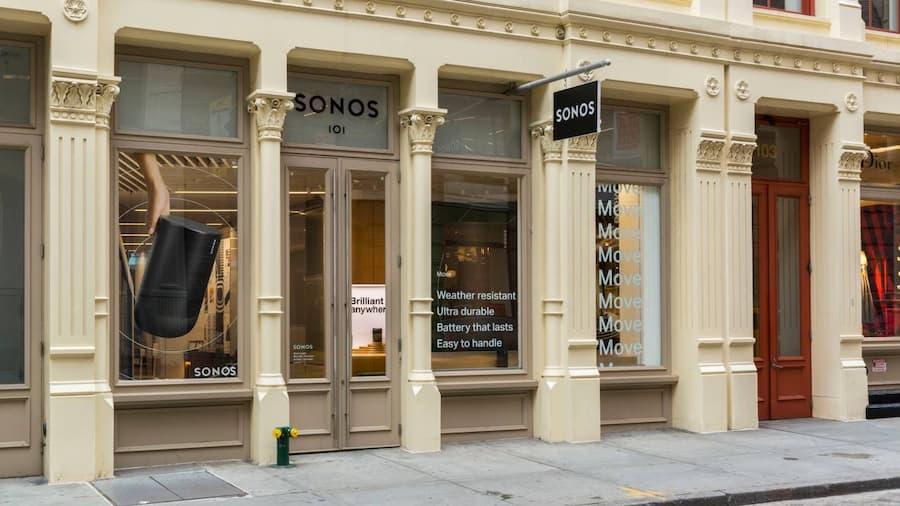 Sonos NYC Storefront