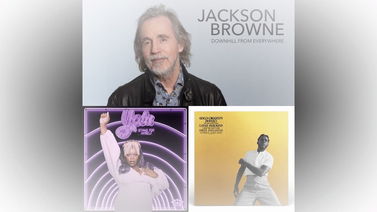 July Album Pre-orders: Jackson Browne, Yola and Leon Bridges