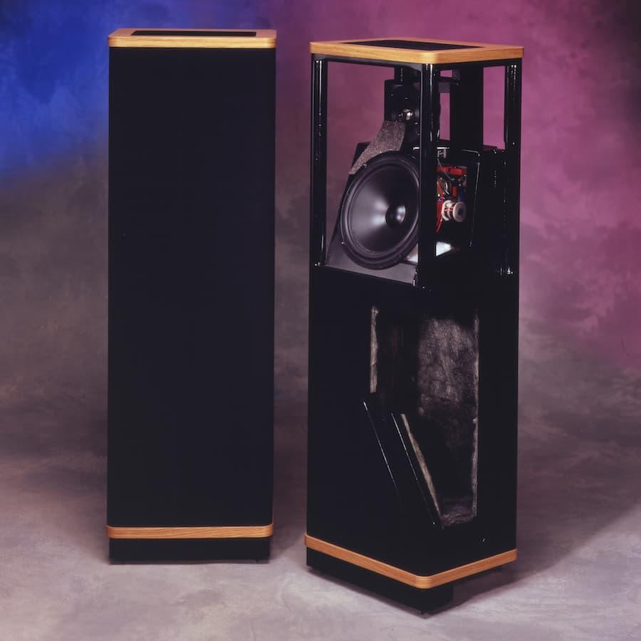 Vandersteen 1ci Loudspeakers Cut Open