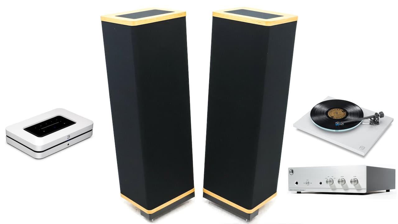 Vandersteen 1Ci Loudspeakers with Audiophile Hi-Fi Components