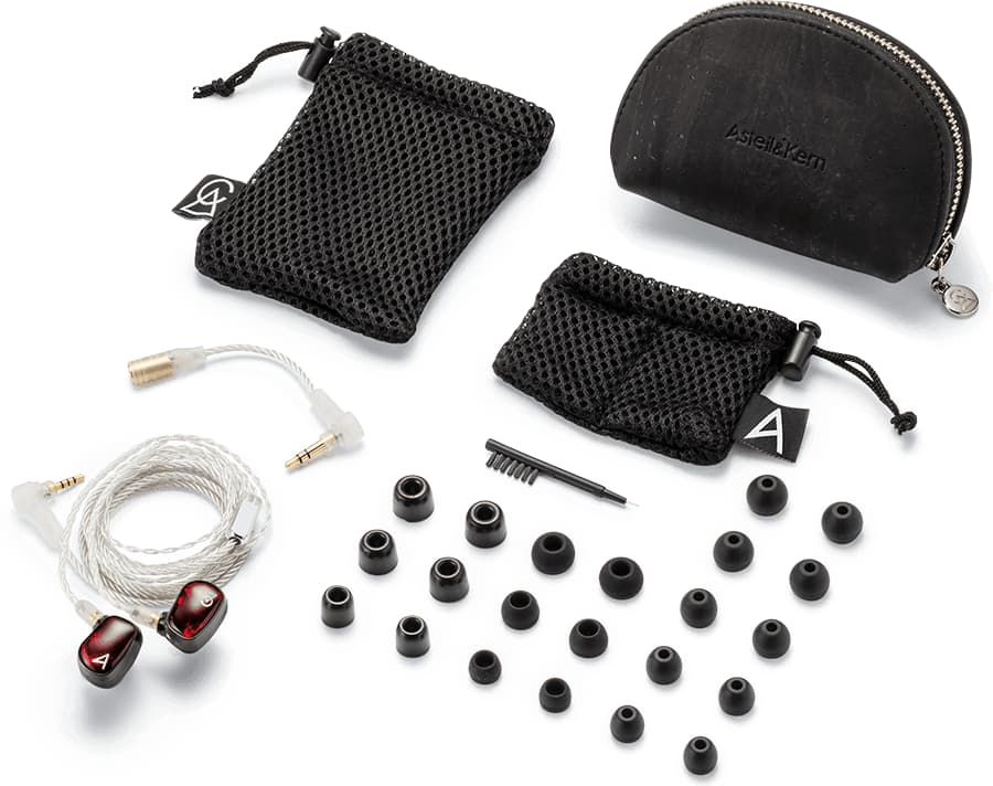 AK Solaris X In-ear Headphones Parts and Accessories