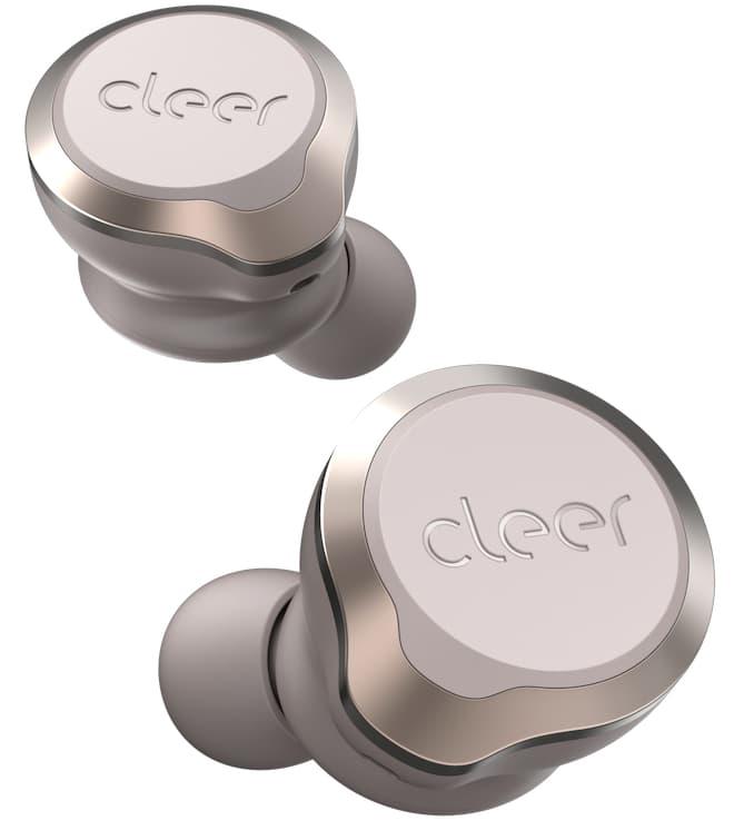 Cleer Ally Plus II Wireless Earphones Sand Top