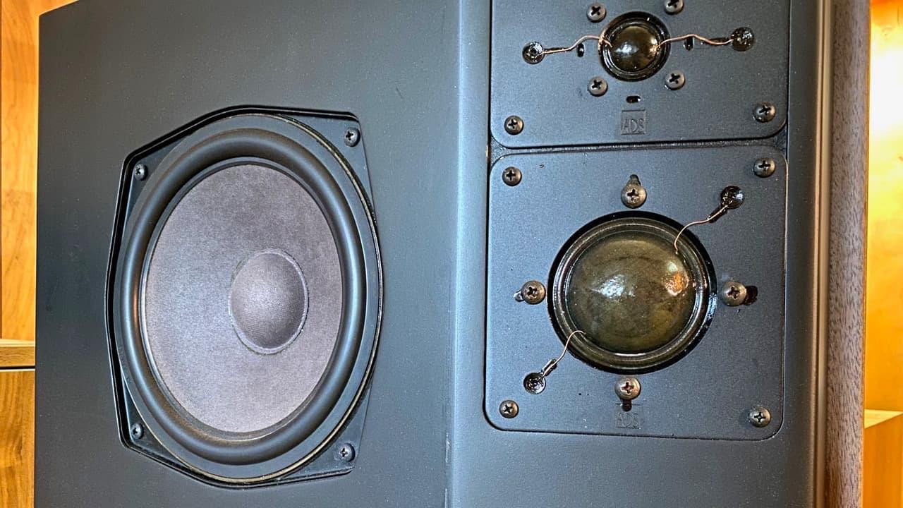 Broken Vintage Speaker