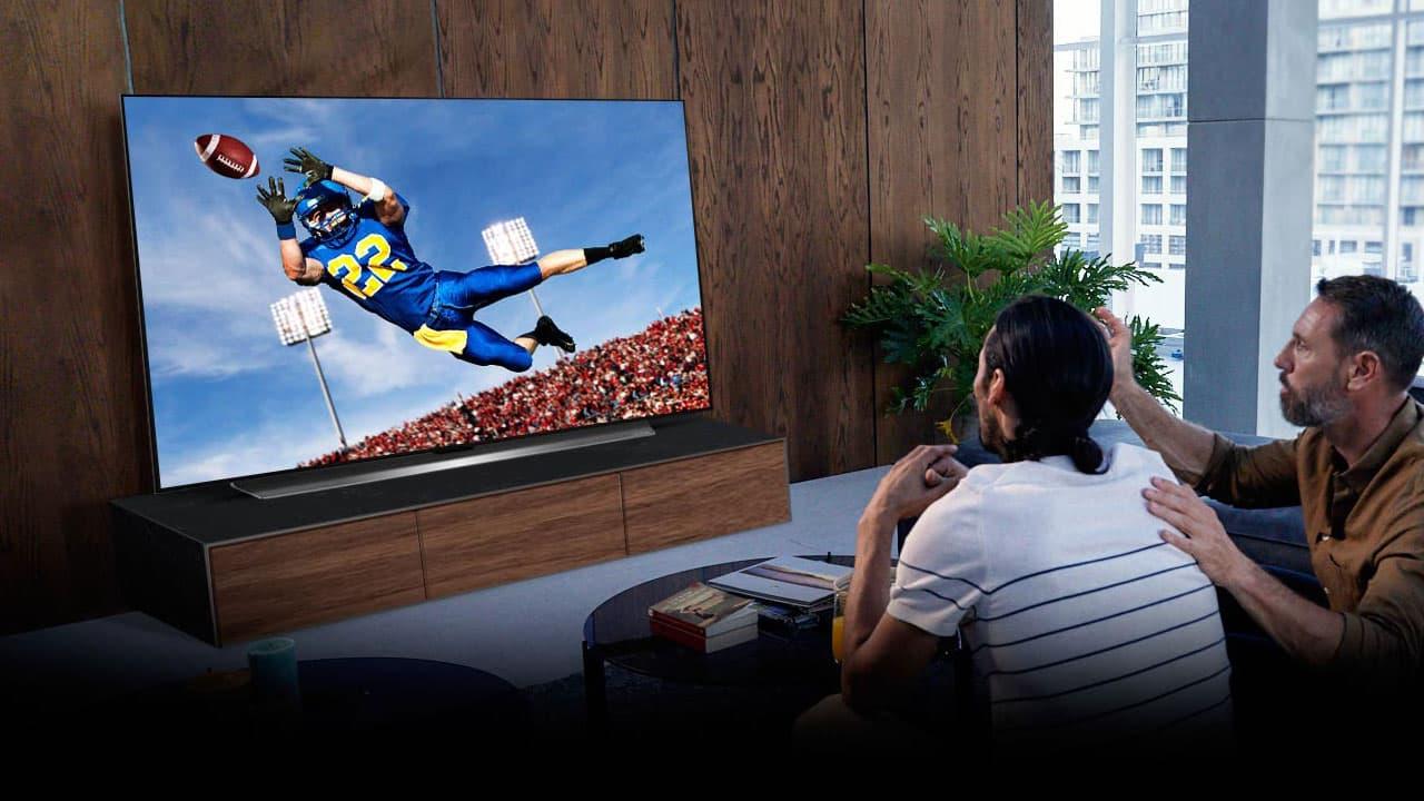 LG OLED TV 2021 Sports Lifestyle