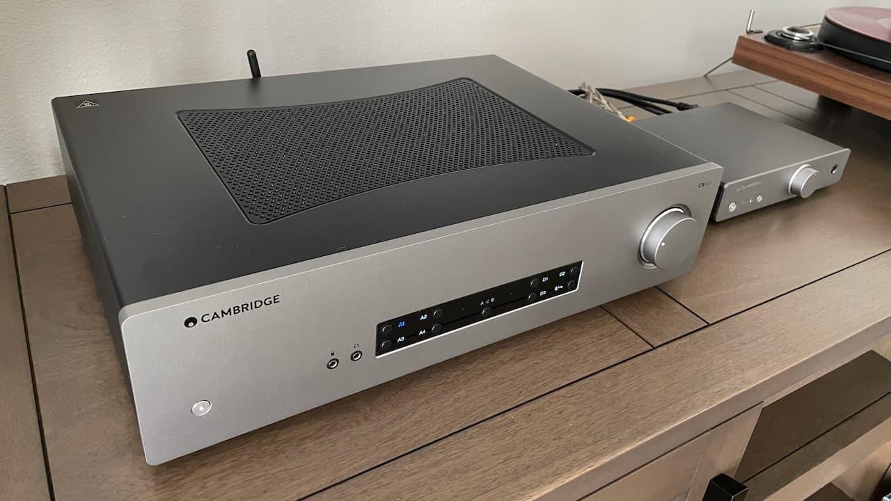 Cambridge Audio CXA61 Integrated Amplifier and Alva Duo Phono Preamp