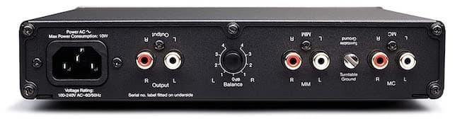 Cambridge Audio Alva Duo Phono Preamp Rear