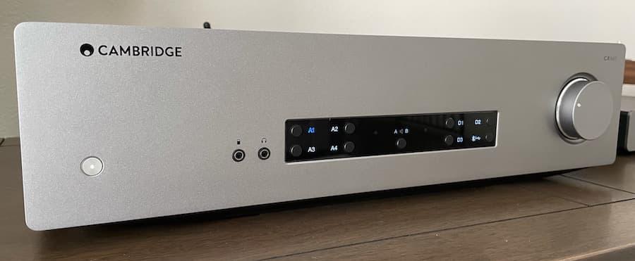 Cambridge Audio CXA61 Integrated Amplifier Front