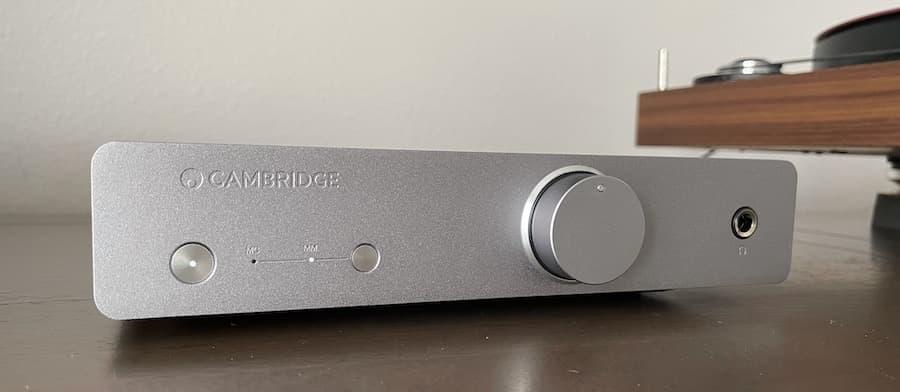 Cambridge Audio Alva Duo Phono Preamp Angle