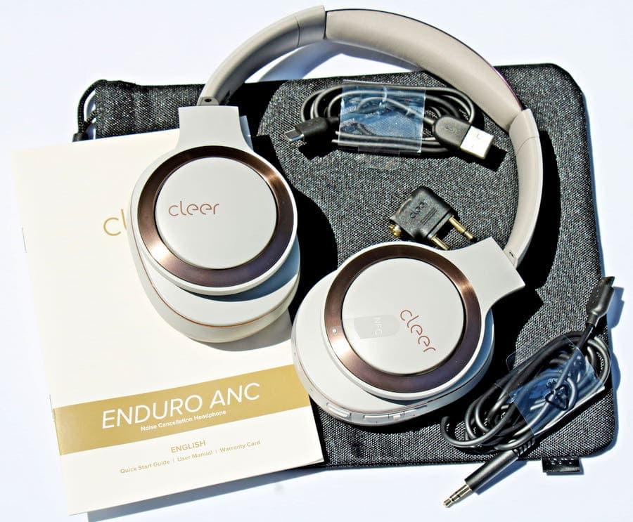 Cleer Enduro ANC Headphone Accessories