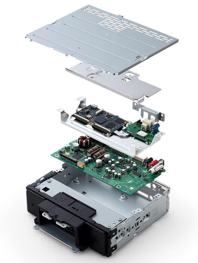 Sony XAV-9500ES Internals