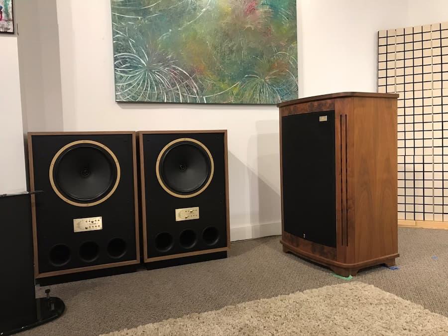 Tannoy Arden Loudspeakers and Canterbury Loudspeaker