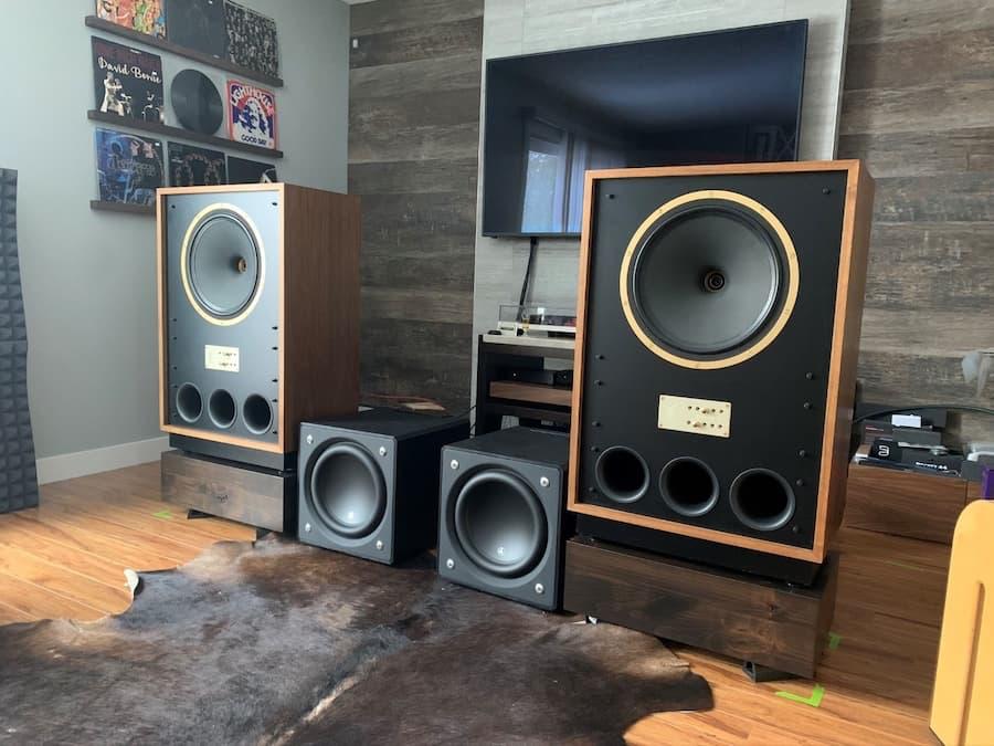 Tannoy Arden Loudspeakers Cardas Setup