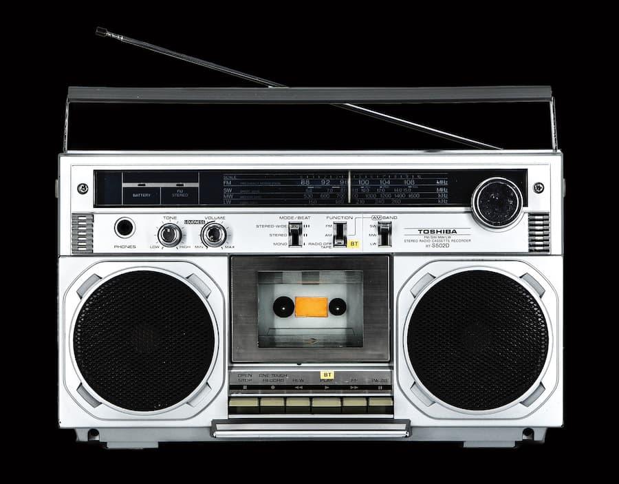 Toshiba RT502 Boombox Radio