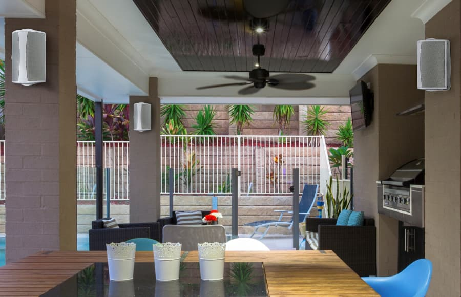 Definitive Technology AW6500 Outdoor Speakers Lifestyle