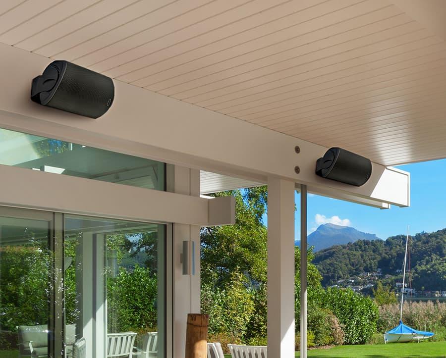Polk Audio Atrium 8 SDI Outdoor Speakers Lifestyle