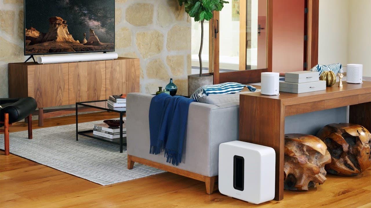 Sonos Arc Soundbar Speaker System Lifestyle