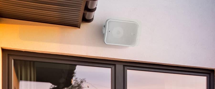 PSB CS1000 Outdoor Speakers Lifestyle