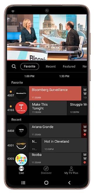 Samsung TV Plus Mobile