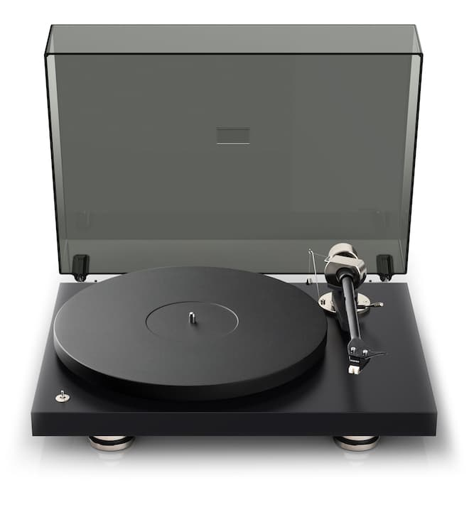 Pro-ject Debut Pro Turntable Front Lid Open