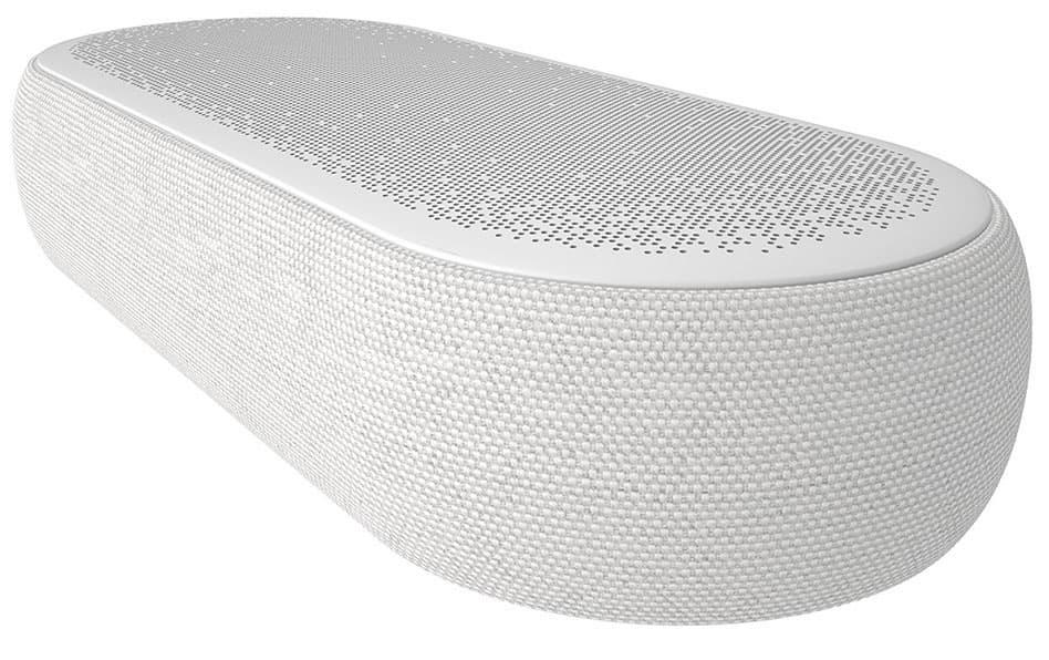 LG Eclair QP5 Sound Bar White