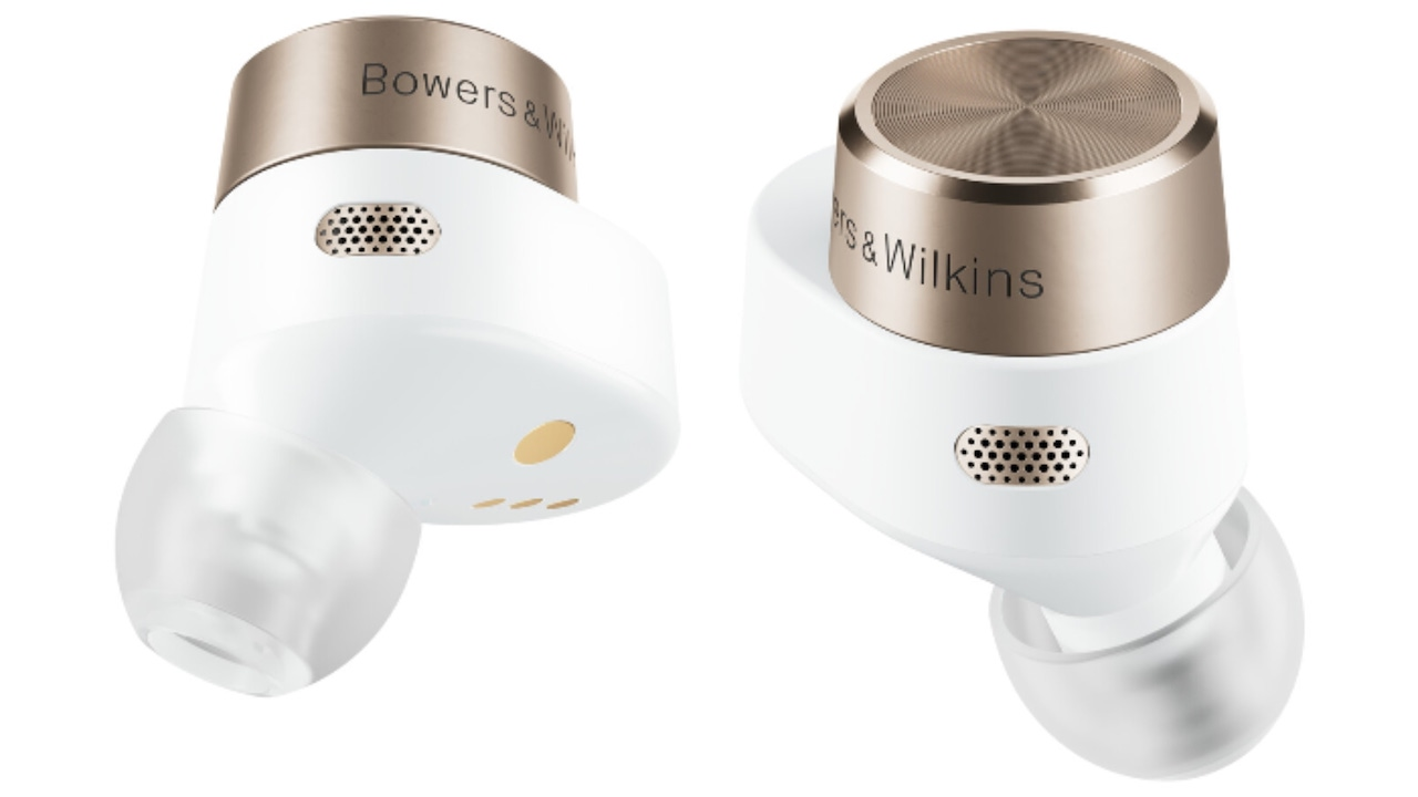 Bowers & Wilkins PI7 Wireless Earbuds White