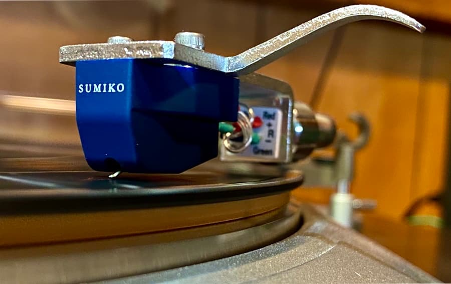 Sumiko Oyster Blue Point No. 3 High Phono Cartridge