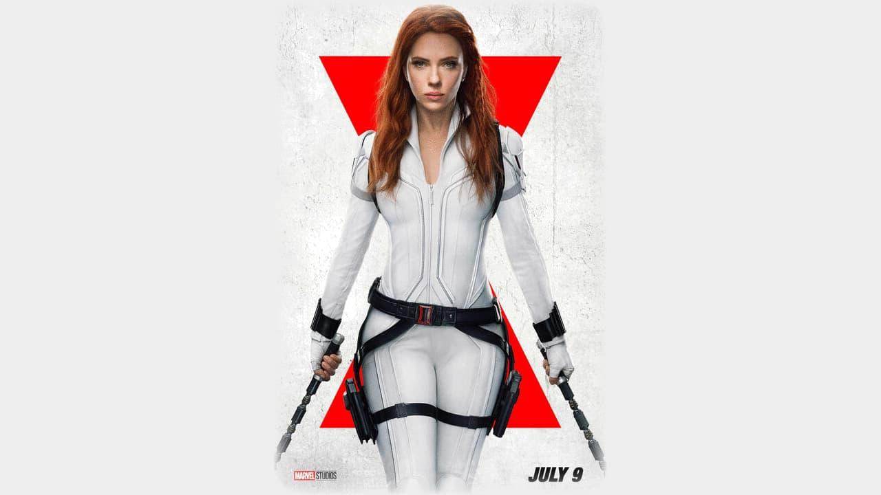 Black Widow Movie Poster Released July 9, 2021