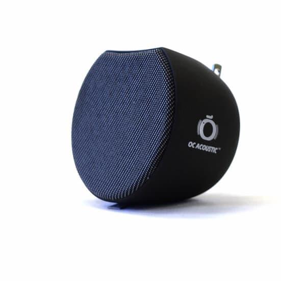 OC Acoustic Plug-in Bluetooth Speaker All Black