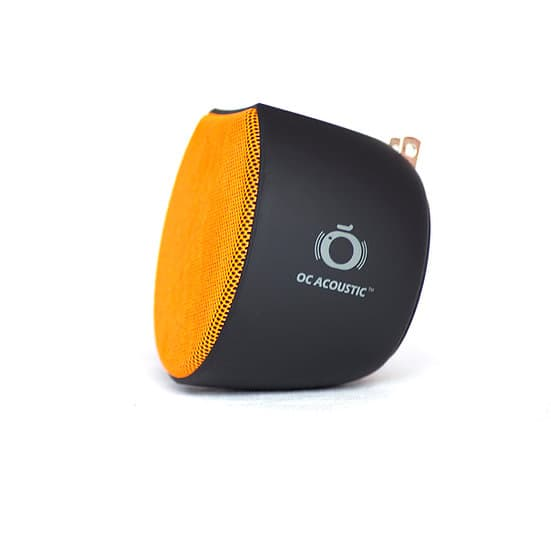 OC Acoustic Plug-in Bluetooth Speaker Orange Black