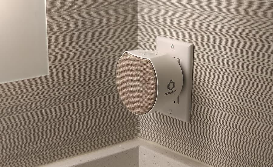 OC Acoustic Plug-in Bluetooth Speaker Champagne