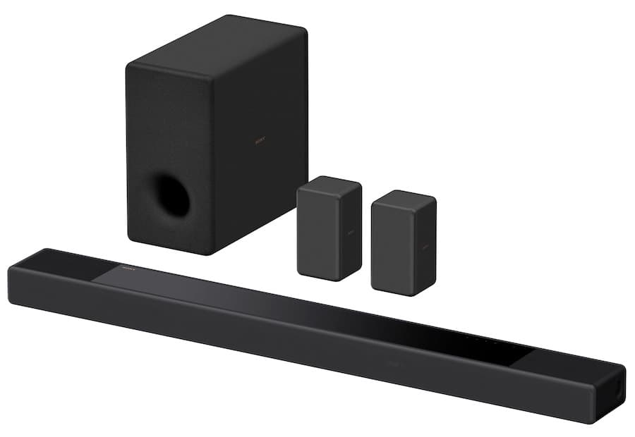 Sony HT-A7000 with SA-SW3 Subwoofer and SA-RS3S Rear Speakers