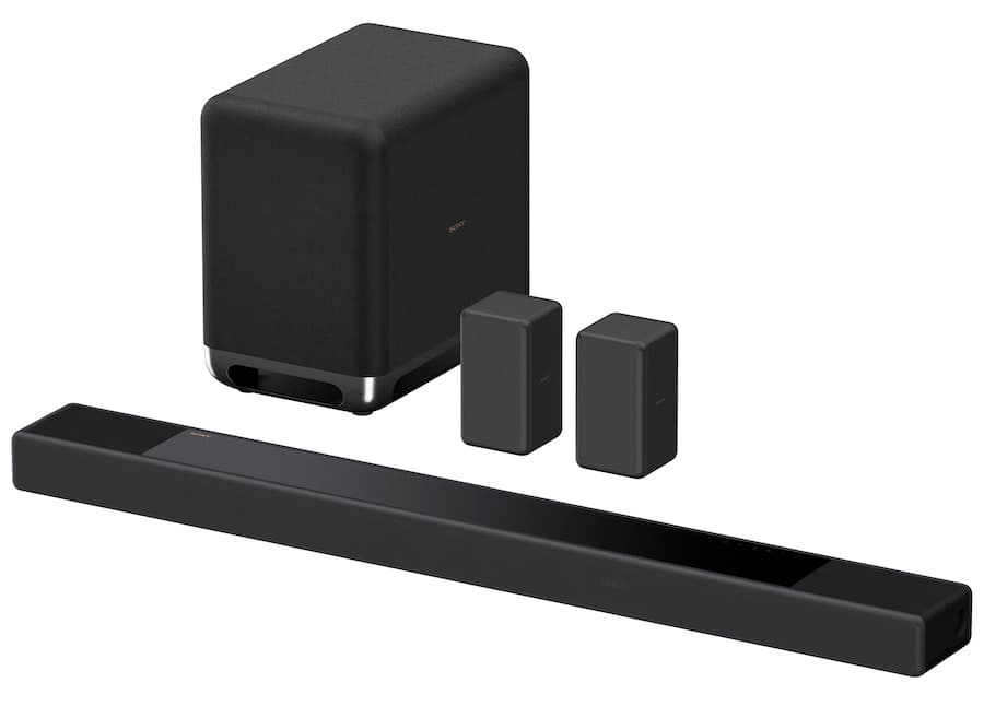 Sony HT-A7000 with SA-SW5 Subwoofer and SA-RS3S Rear Speakers