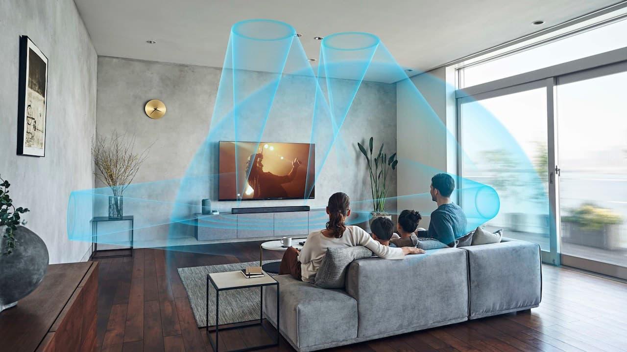 Sony HT-A7000 Dolby Atmos Soundbar Reflected Sound