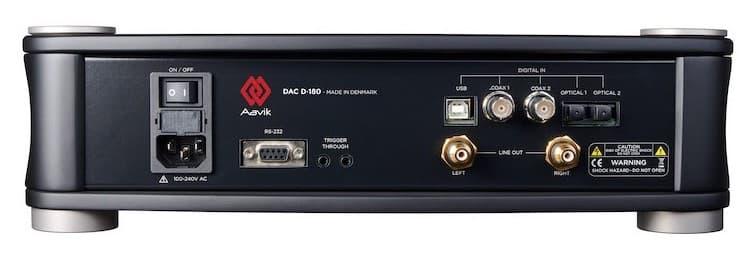 Aavik Acoustics D-180 DAC Rear